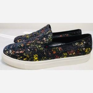 Hermes Shoes - Hermès Leather Slip On Abstract Sneakers 10/10.5
